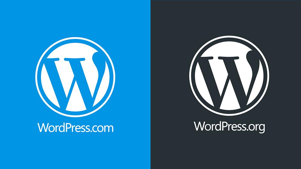 comparação wordpress.com vs wordpress.org