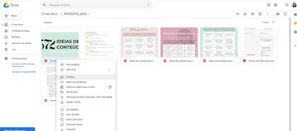 como adicionar um documento para download no blog