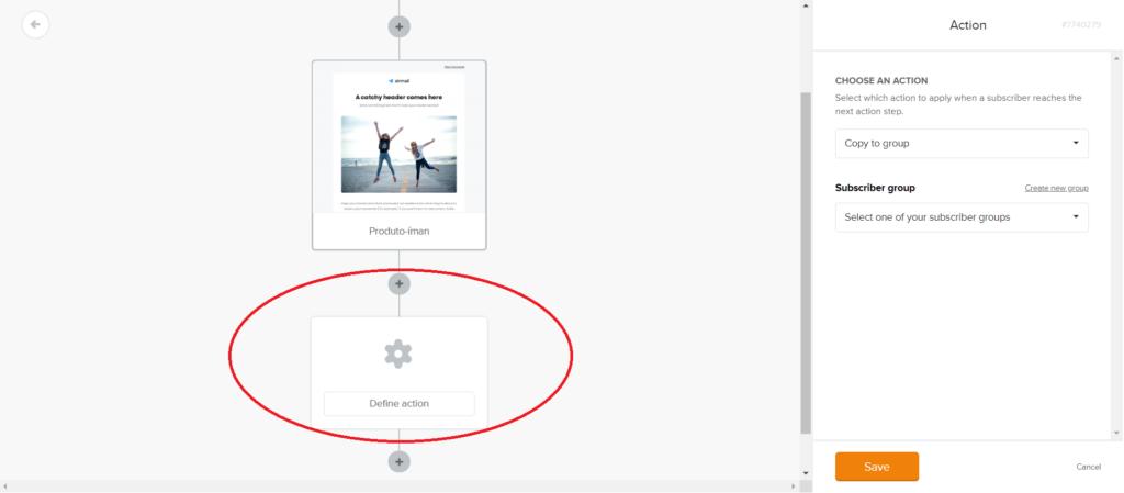 criar uma landing page no mailerlite