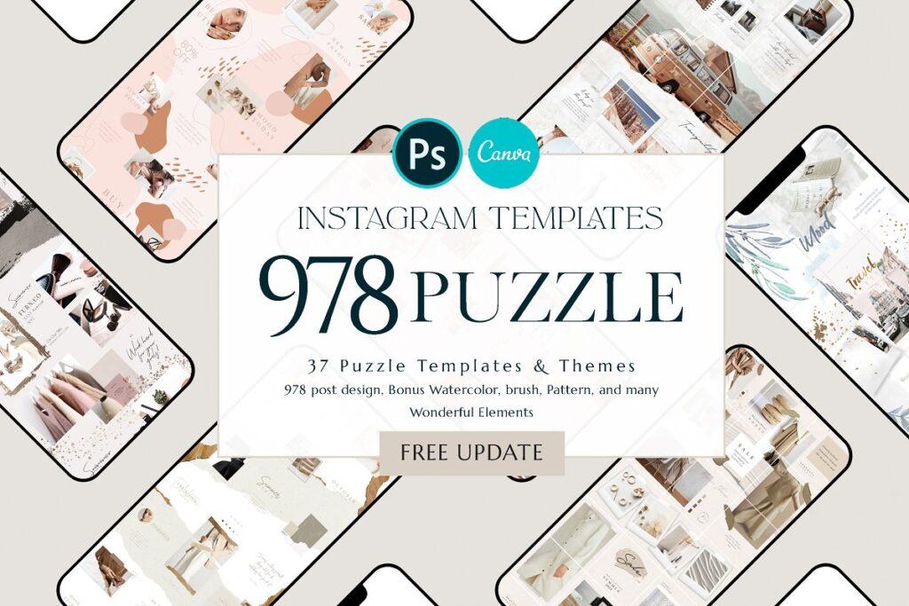 templates de instagram